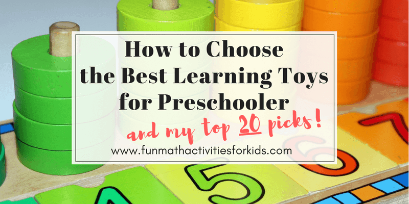 How to choose best toys for preschooler