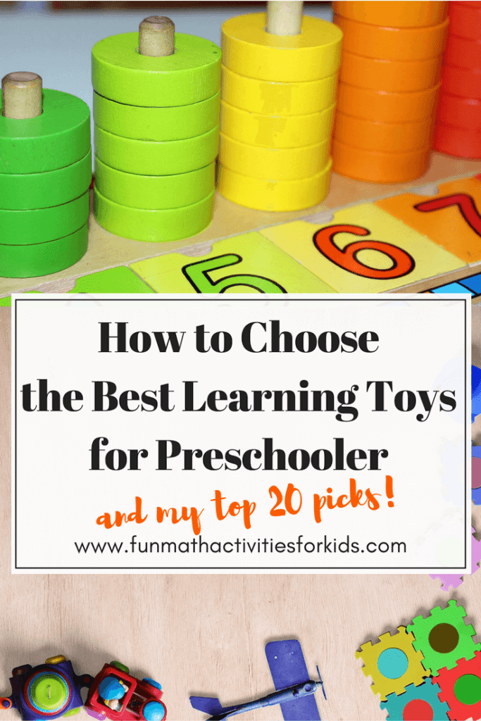 How to choose best toys for preschooler pin