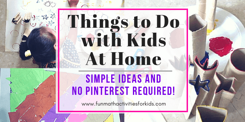 Activities with kids at home