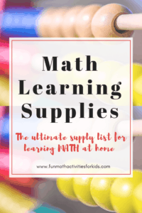 Math Learning Supplies