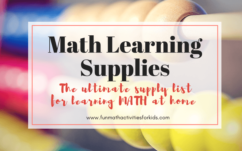 Math Learning Supply