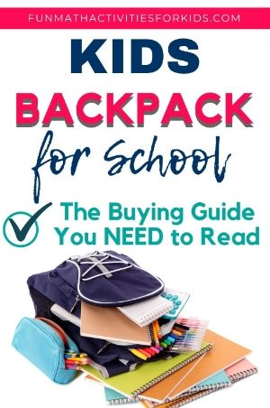 Picking kids backpacks for school - a buying guide