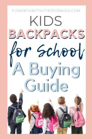 Picking the right school bag
