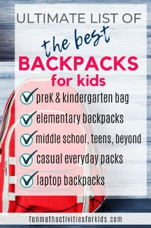 Ultimate list of the best backpack for kids