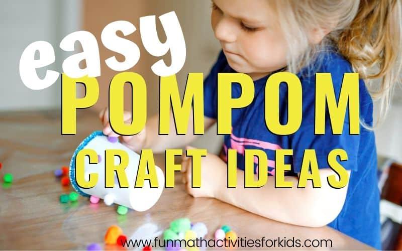 Easy pom pom craft ideas