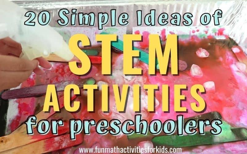 Easy STEM Activities for Preschool